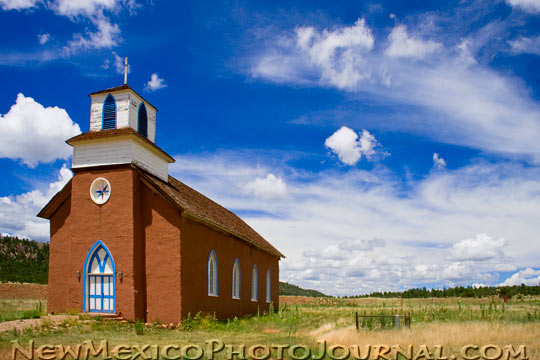 San Rafael Church in La Cueva, NM