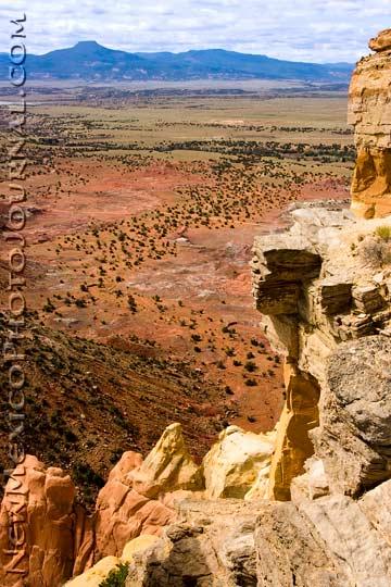 Cerro Pedernal from Chimney Rock