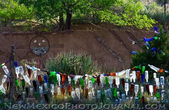 Bottle and Arroyo Art