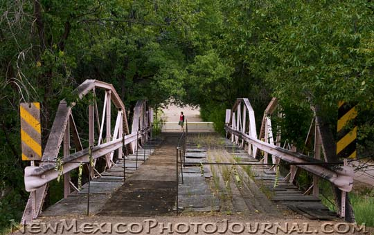 Old Bridge in Montezuma