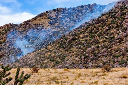 Monte Largo Fire