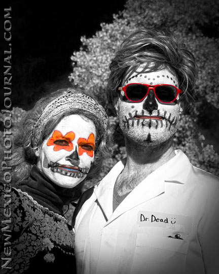Dr. Dead and partner at the 2011 Marigold Parade