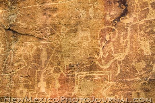 aldridge petroglyph panel