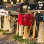 Mailboxes in Corrales