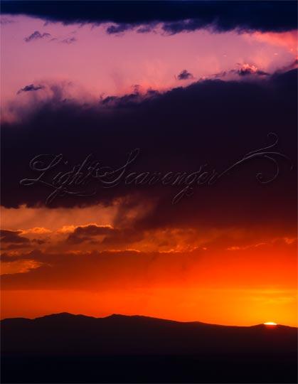 April Sunset