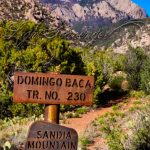 Domingo Baca Trail Sign