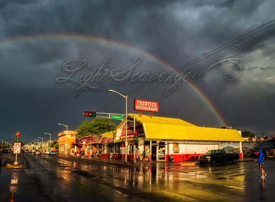 Rainbow over the Frontier