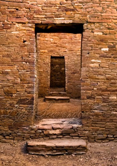 Chaco Canyon Doorways