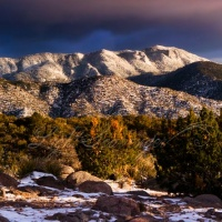 Snow-Packed Sandias