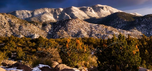 Snow Packed Sandias