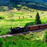 Cumbres & Toltec Railroad Train