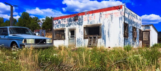 Old Gas Station, Northern NM