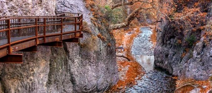 Catwalk, Whitewater Canyon