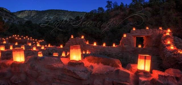Jemez Luminarias