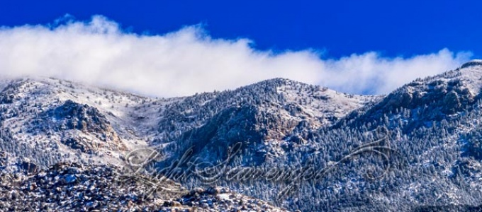 Late Snow in the Sandias