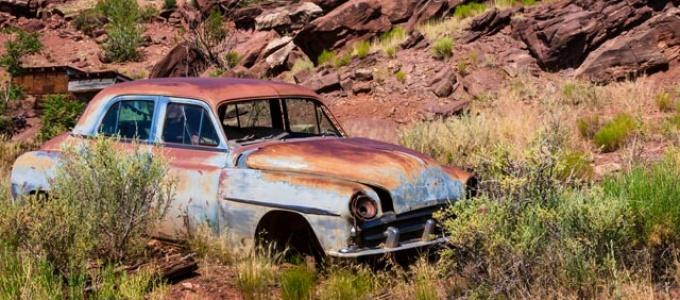 Old Car, Jemez