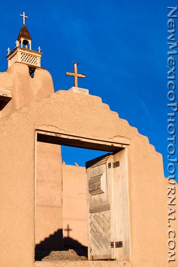 church of san jose de gracia in las trampas, new mexico
