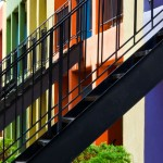Multi-Colored Apartments