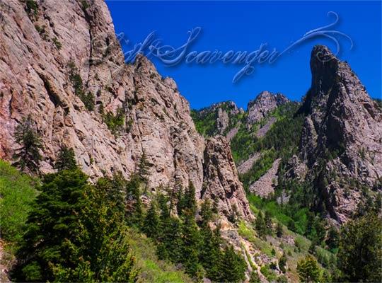 View from La Cueva Overlook