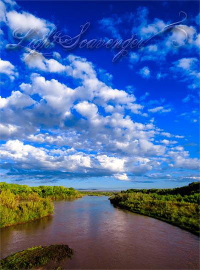 A very full Rio Grande