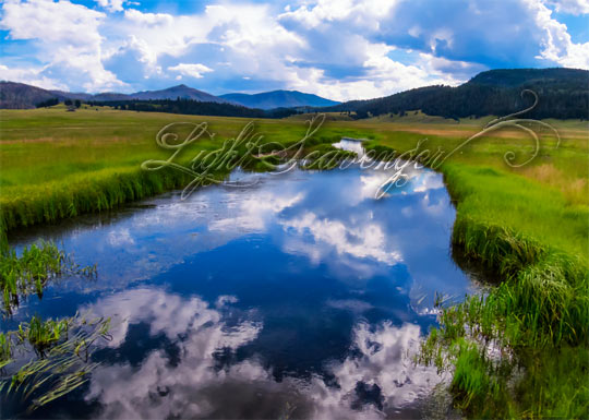 East Fork of the Jemez, seen from Valles Caldera