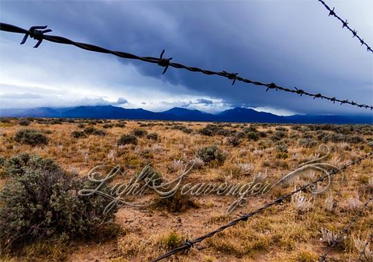 Mesa and Mountains