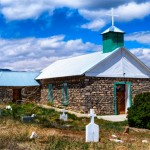 Tajique: Church and Graveyard