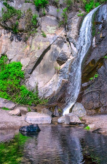 Jemez: No-Name Waterfall