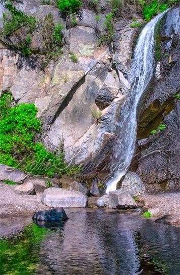Jemez: No-Name Waterfall