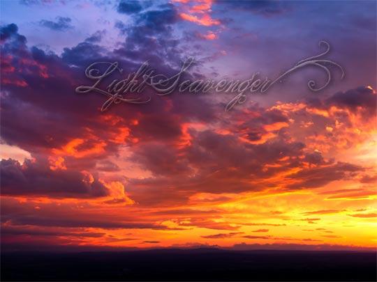Early Fall Sunset