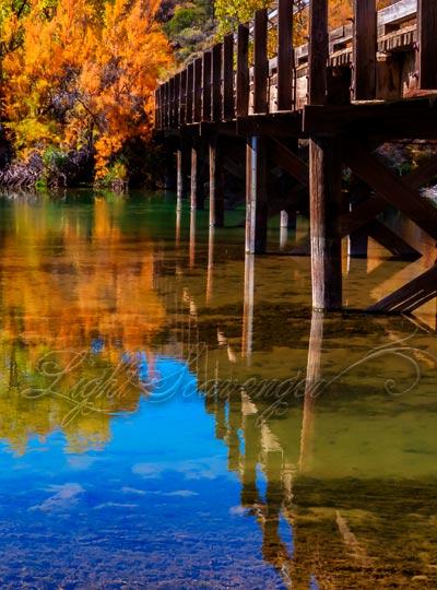 Bridge Over the Rio Grande at Pilar