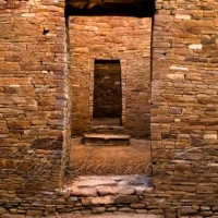 Pueblo Bonito Doorways