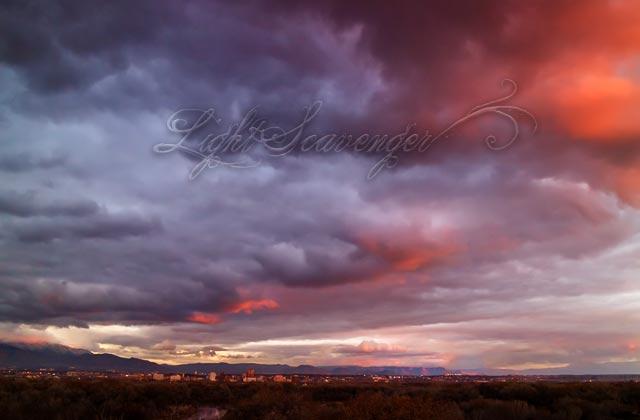 Downtown Albuquerque and Big Sky