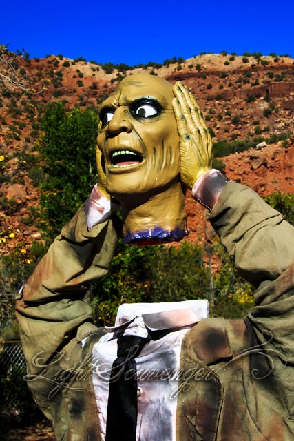 Halloween Severed Head