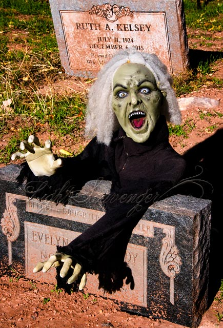Screeching and Reaching in the Jemez Graveyard