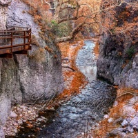 Catwalk, Whitewater Canyon