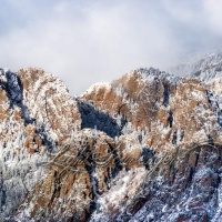 Snow and Ice in the Sandias