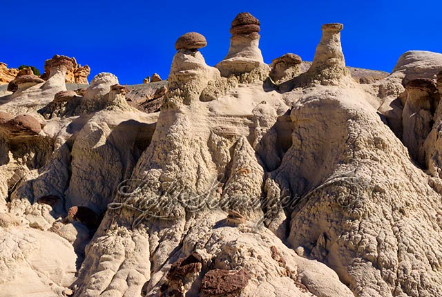 Hoodoos in the De-Na-Zin Wilderness