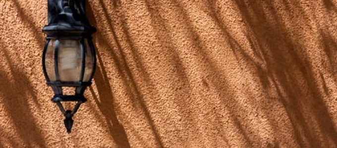 Mosquero Lamp and Shadows