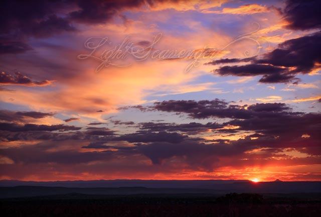 Cabezon and Sunset