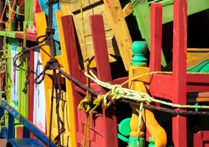 Colorful Furniture Trailer