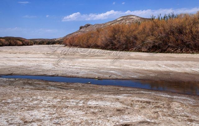 Rio Grande River Bed