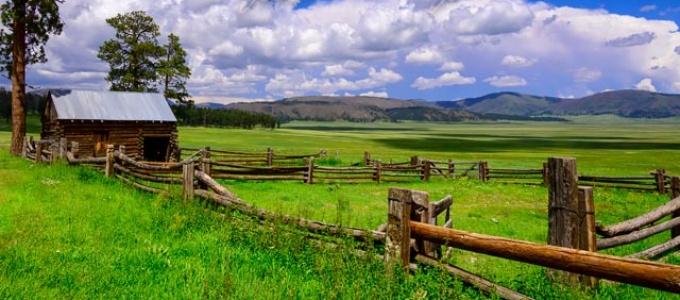 Barn and Corral at Valles Caldera